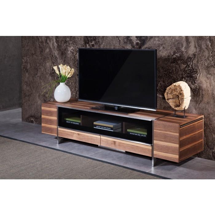 Excellent Famous Modern Walnut TV Stands Inside Nova Domus Lorena Modern Walnut Tv Stand (View 37 of 50)
