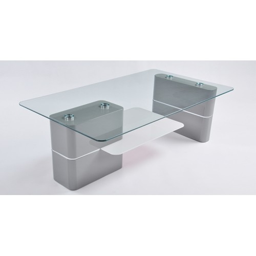 Excellent Famous Oblong Coffee Tables In Modern Oblong Glass Coffee Table 120x70cm Ezy Deal Australia (Image 13 of 40)