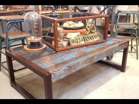 Excellent Famous Reclaimed Wood Coffee Tables Intended For Reclaimed Wood Coffee Table Reclaimed Barn Wood Coffee Table (View 34 of 50)