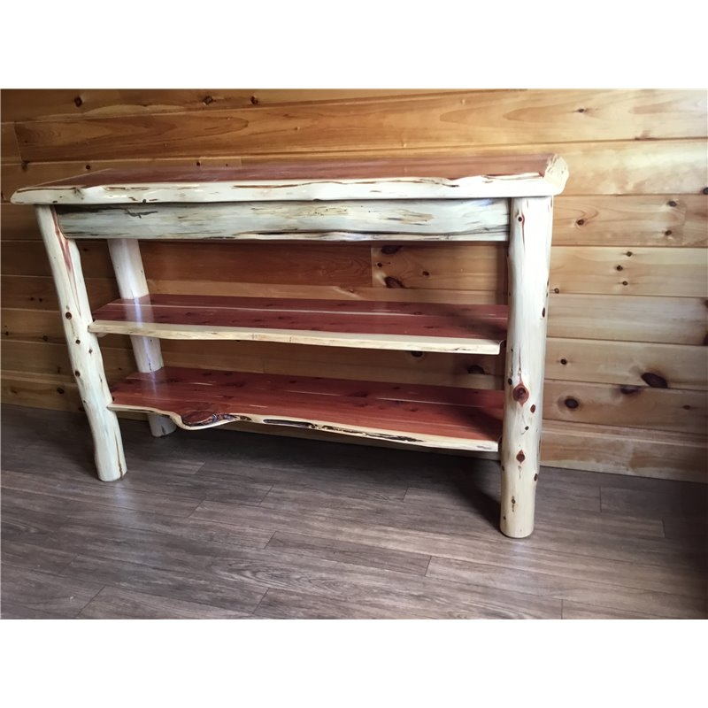 Excellent Famous Rustic Red TV Stands Within Tv Stand Console Table (Image 10 of 50)