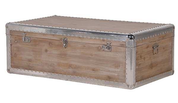 Excellent Famous Silver Trunk Coffee Tables Inside Trunk Coffee Table Uk Roselawnlutheran (Image 14 of 40)