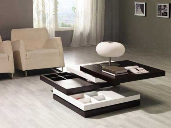Excellent Famous Stylish Coffee Tables In Stylish And Multifunctional Coffee Table With Hidden Compartments (Image 12 of 40)