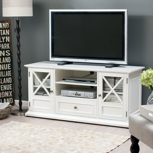 Excellent Famous TV Stands For Large TVs With Regard To Best 25 White Tv Stands Ideas On Pinterest Tv Stand Furniture (Image 13 of 50)
