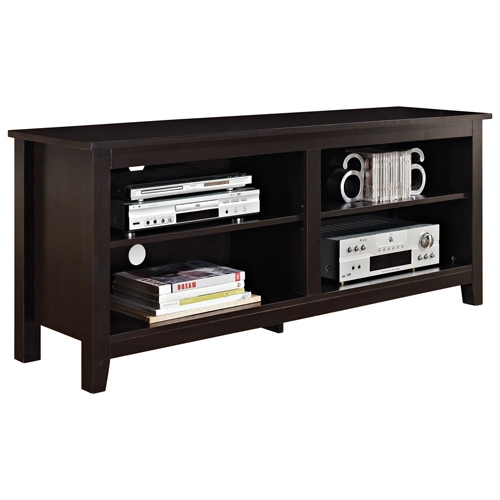 Excellent Fashionable Expresso TV Stands In Walker Edison 65 Tv Stand Espresso Tv Stands Best Buy Canada (View 46 of 50)