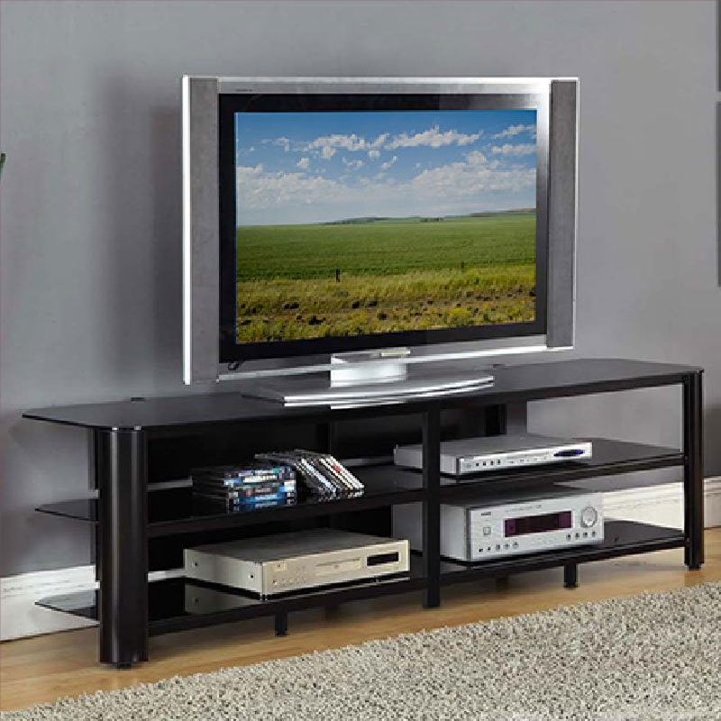 Excellent Fashionable Glass Corner TV Stands For Flat Screen TVs For Tv Stands Outstanding Flat Screen Tv Tables For Small Room Decor (Image 12 of 50)