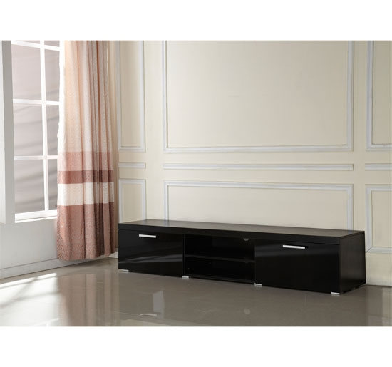 Excellent Fashionable Long Low TV Stands For Low Tv Cabinet Modern Tv Unit Cabinet 2 Meter Long 2 Door Tv (Image 12 of 50)