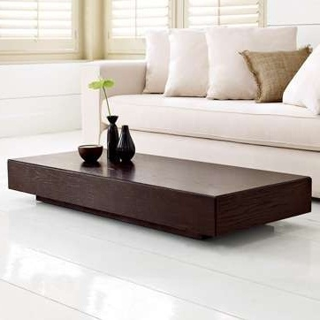 Excellent Fashionable Low Coffee Tables With Regard To Modern Low Coffee Table Addicts Profile With Storage Low Profile (Image 13 of 40)