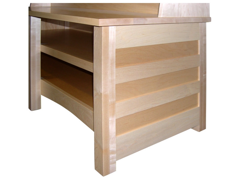 Excellent Fashionable Maple TV Stands For Natural Maple Clarks Mission Tv Stand Amish Clarks Tv Stand (View 16 of 50)
