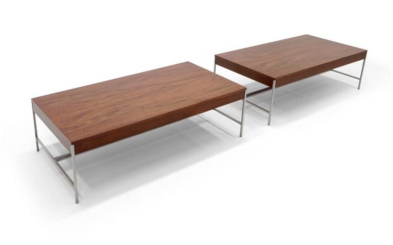 Excellent Fashionable Nelson Coffee Tables Within Matched Pair Of George Nelson Coffee Tables For Sale At 1stdibs (Image 9 of 50)