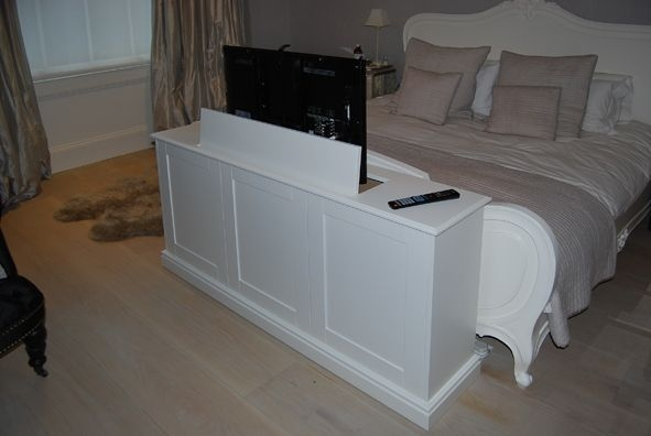 Excellent Fashionable Pop Up TV Stands With Tv Console Pop Up Tv Cabinets Made To Measure Bespoke Plasma (Image 14 of 50)