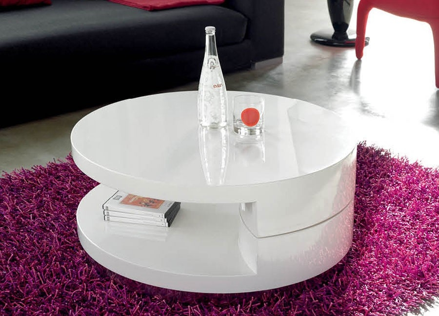 Excellent Fashionable Swivel Coffee Tables For Round Swivel Coffee Table Tr (View 40 of 50)