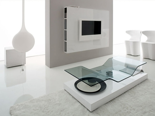 Excellent Fashionable Ultra Modern TV Stands For Ultra Modern Furniture For Living Room Compar (Image 10 of 50)