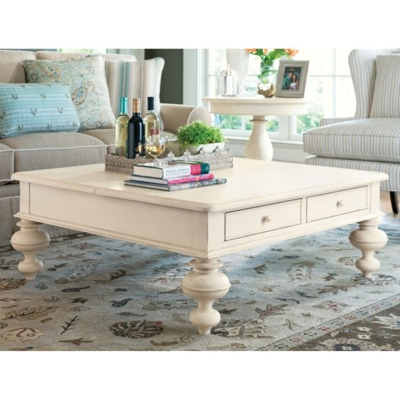 Excellent Fashionable White Coffee Tables With Baskets With Furniture Glamorous White Coffee Tables With Storage For Warm (Image 15 of 40)