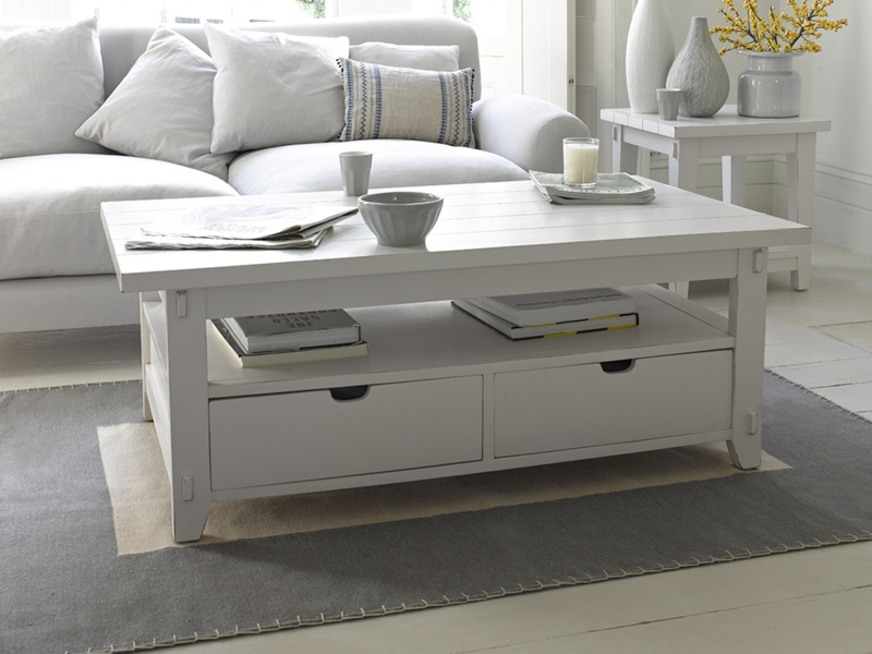 Featured Image of White Coffee Tables With Storage