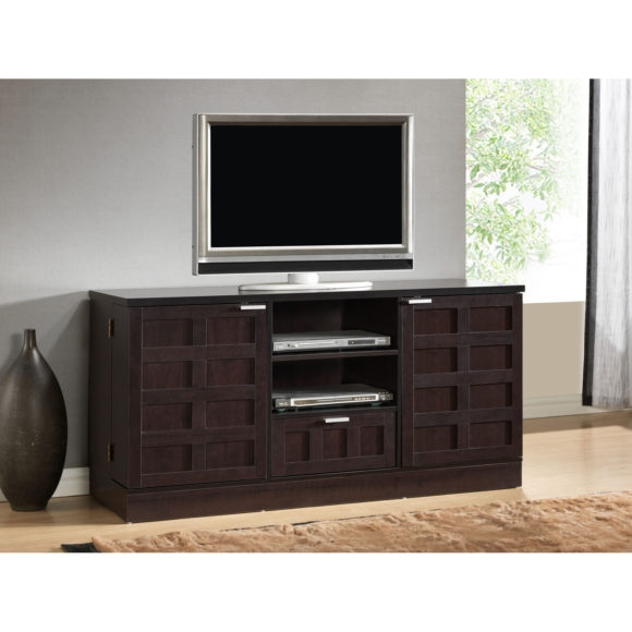 Excellent Fashionable Wooden TV Cabinets With Glass Doors With Regard To Tv Cabinets With Glass Doors (Image 21 of 50)