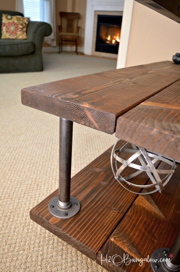 Excellent Fashionable Wooden TV Stands With Wheels Intended For The 25 Best Tv Stand With Wheels Ideas On Pinterest Storage Box (Image 11 of 50)