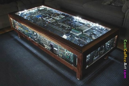 Excellent Favorite Art Coffee Tables Within Cool Coffee Art The Distraction Network (Image 16 of 50)