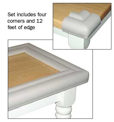 Excellent Favorite Baby Proof Coffee Tables Corners Regarding Kid Kushion 3002 Table Cushion 4 Corners 12 Of Edge (Image 9 of 40)