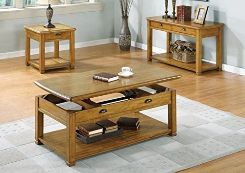 Excellent Favorite Light Oak Coffee Tables With Drawers Pertaining To Sofa Tables With Storage Console Tables With Storage Drawers (View 32 of 40)