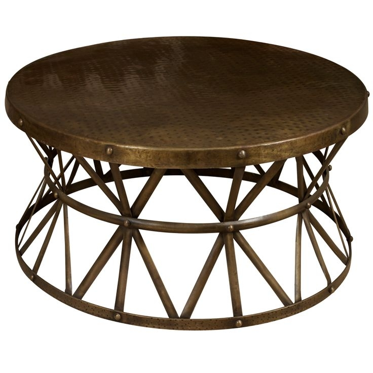 Excellent Favorite Metal Round Coffee Tables With Regard To Metal Coffee Tables (Image 13 of 50)