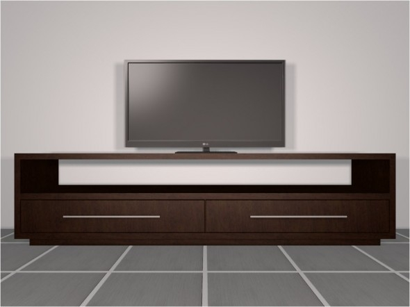Excellent Favorite Modern Wooden TV Stands With Regard To Standard Tv Stands The Woodworker (Image 20 of 50)