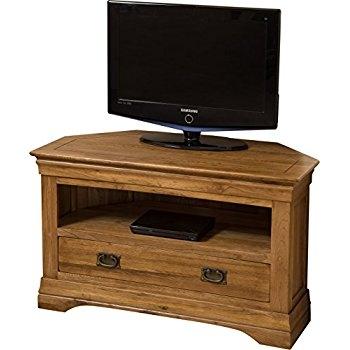 Excellent Favorite Oak Corner TV Cabinets In Modern Furniture Direct Knightsbridge Solid Oak Corner Tv Cabinet (Image 11 of 50)
