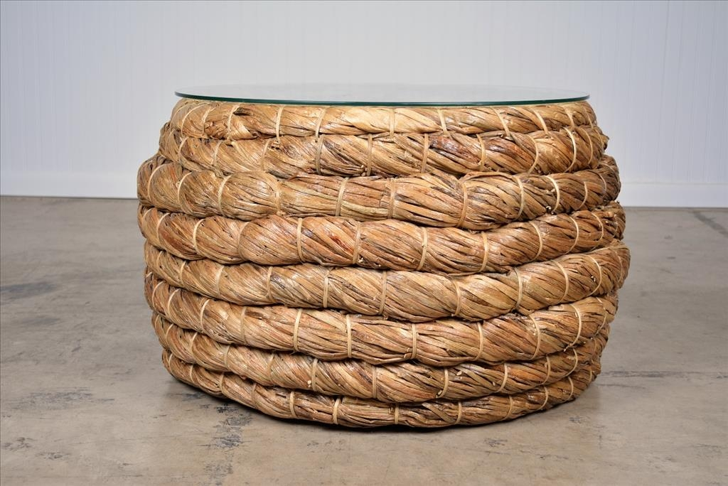 Excellent Favorite Round Woven Coffee Tables With Regard To Coffee Tables Designs Incredible Woven Coffee Table Ideas Round (Image 21 of 50)