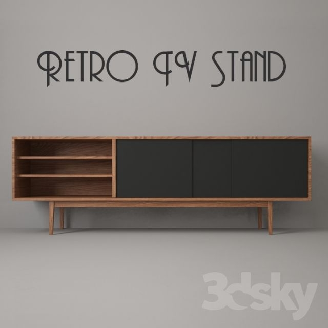 Excellent Favorite Vintage Style TV Cabinets In Best 25 Retro Tv Stand Ideas On Pinterest Simple Tv Stand Tv (Image 16 of 50)
