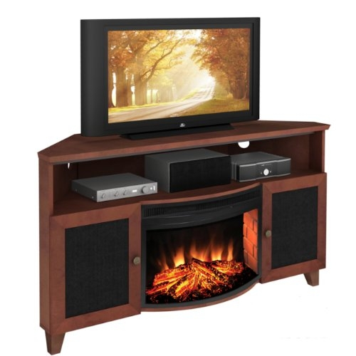 Excellent High Quality Corner 60 Inch TV Stands For Best 60 Inch Electric Fireplace Tv Stand Under 1000 Dollars (Image 9 of 50)