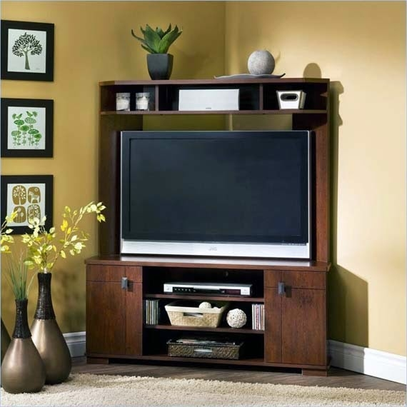 Excellent High Quality Corner TV Stands For Flat Screen Within Tv Stands 65 Inch Corner Tv Stand Flat Screen Corner Tv Mount (Image 15 of 50)