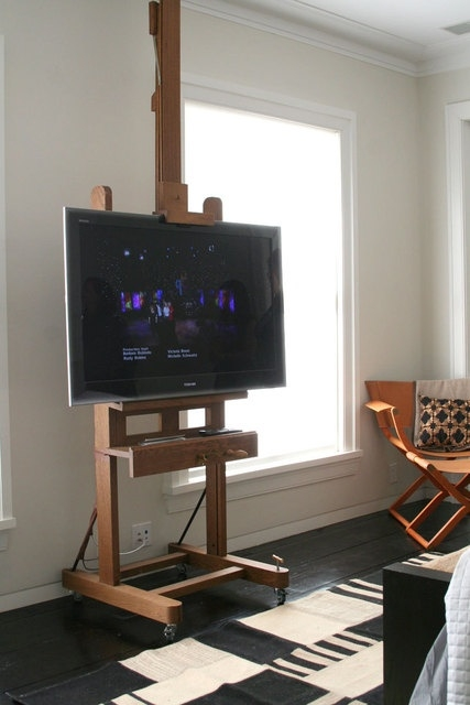 Excellent High Quality Easel TV Stands For Flat Screens With Regard To 14 Best Tv Easles Images On Pinterest Easels Tv Stands And Diy Tv (View 22 of 50)
