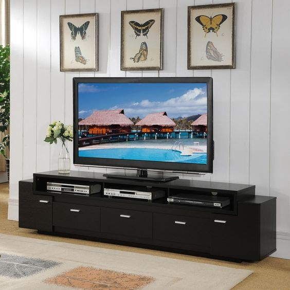 Excellent High Quality Iconic TV Stands With Regard To Tv Stands Amusing 84 Inch Tv Stand Design Ideas 84 Inch Tv Stand (Image 14 of 50)