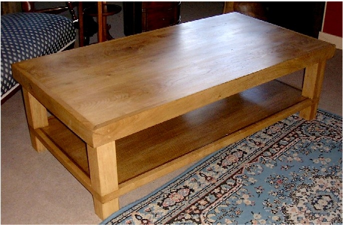 Excellent High Quality Oak Coffee Table With Shelf Throughout Acrylic Coffee Table Ikea Acrylic Coffee Table Cheap Furniture (View 15 of 50)