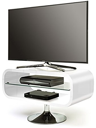 Excellent High Quality Opod TV Stands White Inside Centurion Opod 19 40 Lcd Led Oled Amazoncouk Electronics (Image 16 of 50)