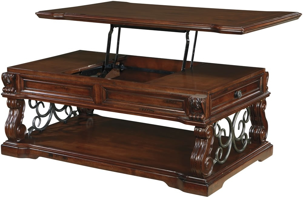 Excellent High Quality Pull Up Coffee Tables Inside Coffee Tables That Lift Up (Image 14 of 50)