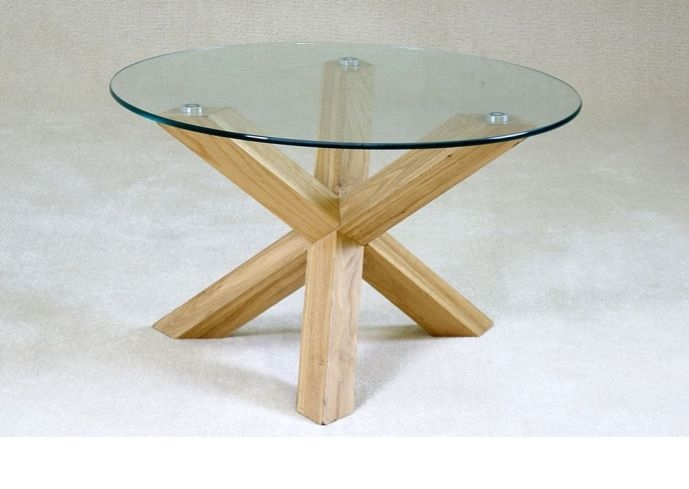 Excellent High Quality Round Glass And Wood Coffee Tables Throughout Innovative Round Wood And Glass Coffee Table Coffee Table  (Image 14 of 50)