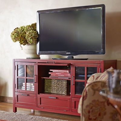 Excellent High Quality Rustic Red TV Stands Inside Best 25 Red Tv Stand Ideas On Pinterest Red Wood Stain (Image 11 of 50)