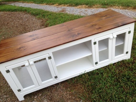 Excellent High Quality Rustic White TV Stands In 13 Best Tv Stands Images On Pinterest Tv Consoles For The Home (View 36 of 50)