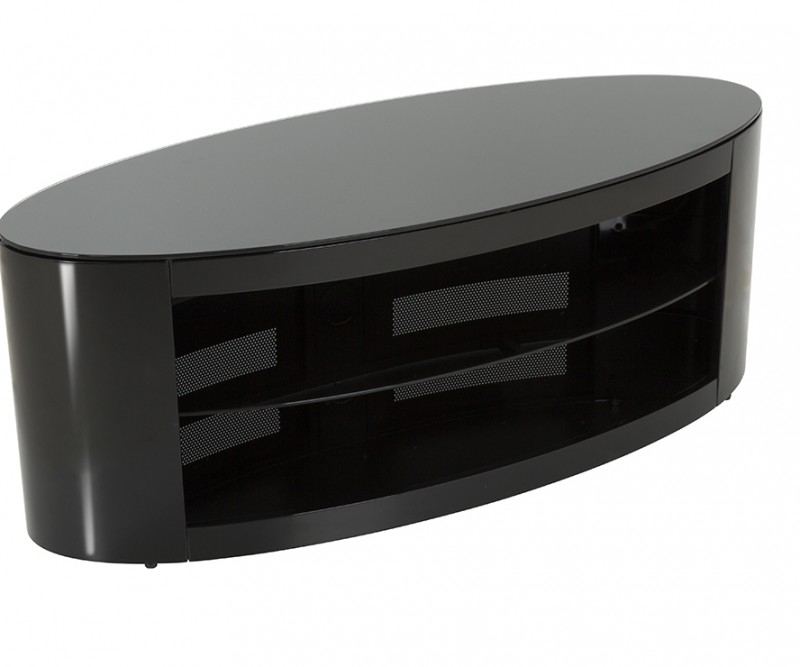 Excellent Latest Black Oval TV Stands With Regard To Fs11bucxb Affinity Plus Buckingham Oval Tv Stand Tv Stands (Image 13 of 50)