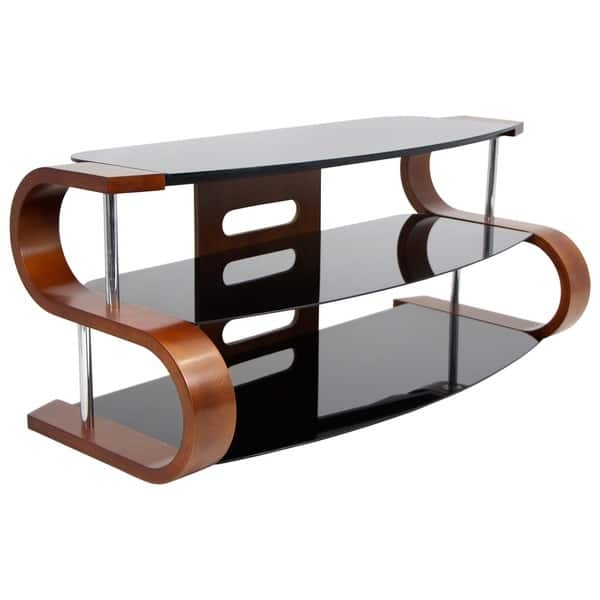 Excellent Latest Brown TV Stands With Metro Series 120 Dark Brown Tv Stand Free Shipping Today (View 24 of 45)