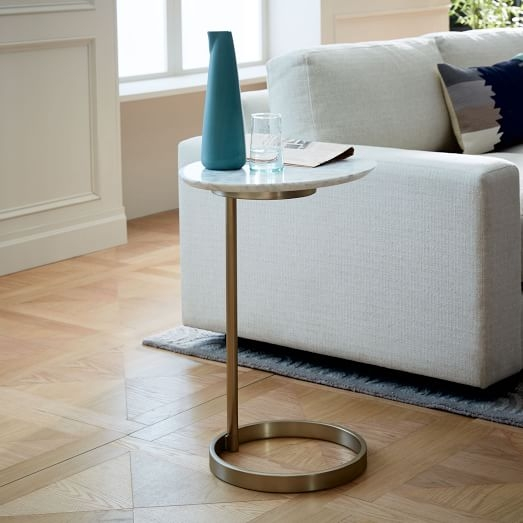 Excellent Latest C Coffee Tables In Ring C Side Table West Elm (Image 12 of 50)
