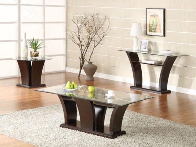 Excellent Latest Coffee Table With Matching End Tables Within Coffee And End Table Ideas (Image 22 of 50)
