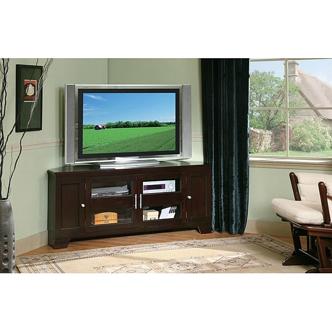 Excellent Latest Corner TV Stands For 60 Inch TV Pertaining To Williams Home Furnishing 60 Inch Corner Tv Stand Free Shipping (View 36 of 50)