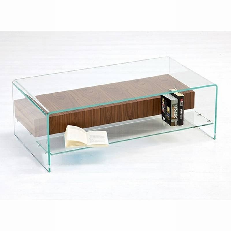Excellent Latest Curved Glass Coffee Tables Inside Bent Glass Coffee Tables (Image 13 of 50)