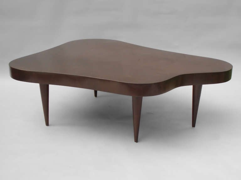 Excellent Latest Free Form Coffee Tables Intended For Biomorphic Free Form Coffee Table In The Style Of Gilbert Rohde At (Image 13 of 40)