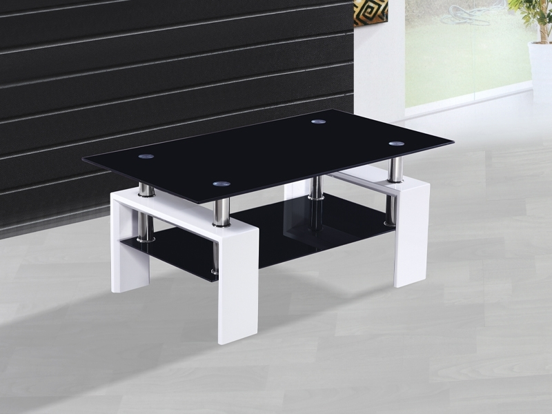 Excellent Latest Gloss Coffee Tables With Metro White High Gloss Coffee Table Catalogue Outlet (Image 18 of 50)