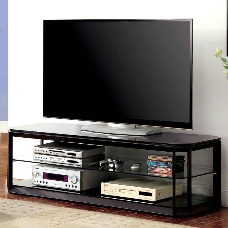 Excellent Latest Hokku TV Stands Within Hokku Designs Herbert 60 Tv Stand Reviews Wayfair (Image 12 of 50)
