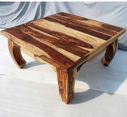 Excellent Latest Large Square Wood Coffee Tables With Regard To Square Wooden Coffee Table Easy As Square Coffee Table In (View 24 of 50)