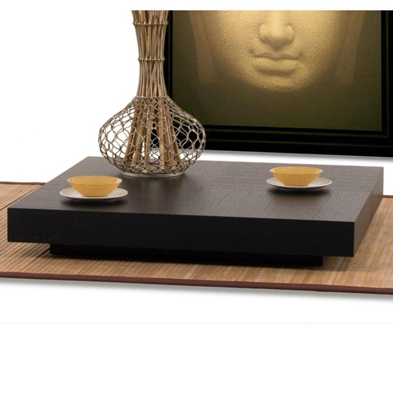 Excellent Latest Low Square Coffee Tables Within Table Low Profile Coffee Table Home Interior Design (Image 19 of 50)