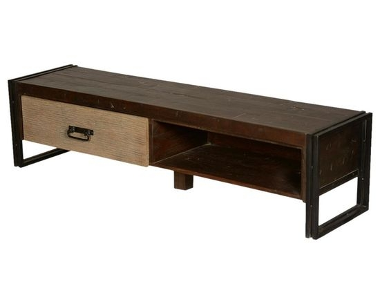 Excellent Latest Mango TV Stands Intended For Rustic Media Stand And Consoles (Image 11 of 50)